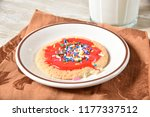 a homemade sugar cooking with... | Shutterstock . vector #1177337512