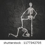 concept illustration of a... | Shutterstock . vector #1177342705