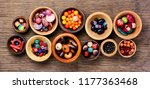 style beads for making jewelry... | Shutterstock . vector #1177363468