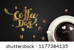 vector illustration of happy... | Shutterstock .eps vector #1177384135