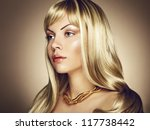 photo of beautiful woman with... | Shutterstock . vector #117738442