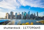 new york city manhattan...   Shutterstock . vector #1177390645