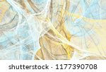 abstract painting blue and... | Shutterstock . vector #1177390708