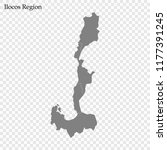 high quality map of ilocos... | Shutterstock .eps vector #1177391245