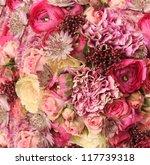 Close Up Of Wedding Bouquet...