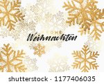 christmas background with... | Shutterstock .eps vector #1177406035