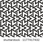 hipster background. geometric... | Shutterstock .eps vector #1177417432