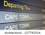 computer screen closeup of cape ... | Shutterstock . vector #117742516