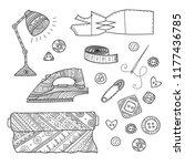 vector illustration of... | Shutterstock .eps vector #1177436785