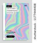 trendy design template with... | Shutterstock .eps vector #1177444408