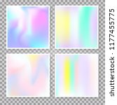 hologram abstract backgrounds... | Shutterstock .eps vector #1177455775