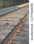 a little used railway line | Shutterstock . vector #1177464658