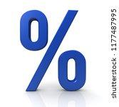 percent sign discount symbol...   Shutterstock . vector #1177487995