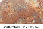 texture of rusty iron. aged... | Shutterstock . vector #1177492468