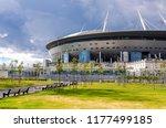 saint petersburg  russia  ... | Shutterstock . vector #1177499185