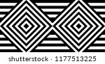 seamless pattern with striped... | Shutterstock .eps vector #1177513225