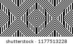 seamless pattern with striped... | Shutterstock .eps vector #1177513228