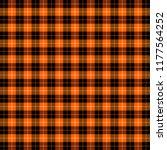 halloween tartan plaid.... | Shutterstock .eps vector #1177564252