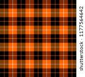 halloween tartan plaid.... | Shutterstock .eps vector #1177564642