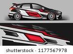 car wrap graphic racing...   Shutterstock .eps vector #1177567978