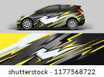 car wrap graphic racing... | Shutterstock .eps vector #1177568722