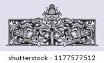 old russian pattern for book.... | Shutterstock .eps vector #1177577512