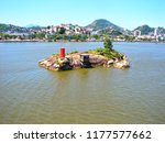 water ways to port at vitoria ... | Shutterstock . vector #1177577662