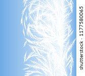 winter frozen window seamless... | Shutterstock .eps vector #1177580065