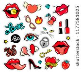 """a fashionable set of stickers  ... 