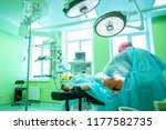 surgical operation... | Shutterstock . vector #1177582735