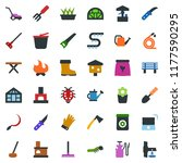colored vector icon set   well... | Shutterstock .eps vector #1177590295