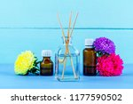 air diffuser  essential and... | Shutterstock . vector #1177590502