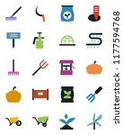 color and black flat icon set   ... | Shutterstock .eps vector #1177594768