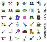colored vector icon set  ... | Shutterstock .eps vector #1177607278