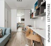 multifunctional home interior...   Shutterstock . vector #1177615582
