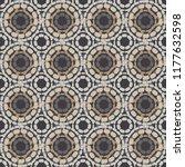 polka dot seamless pattern.... | Shutterstock .eps vector #1177632598