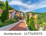 petite france village  the... | Shutterstock . vector #1177639375