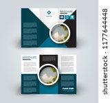 brochure design. creative tri... | Shutterstock .eps vector #1177644448