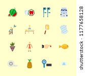health vector icons set.... | Shutterstock .eps vector #1177658128