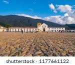colombia  villa de leyva  plaza ... | Shutterstock . vector #1177661122