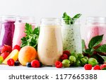 healthy and useful colorful... | Shutterstock . vector #1177665388