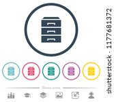 categorize flat color icons in... | Shutterstock .eps vector #1177681372