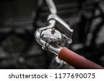 bicycle reflection in amsterdam | Shutterstock . vector #1177690075