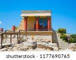 greece  crete  heraklion. ... | Shutterstock . vector #1177690765