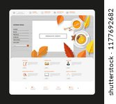 autumn one page website...