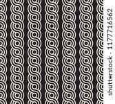 vector seamless rounded... | Shutterstock .eps vector #1177716562