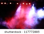 Image Of Colorful Concert...