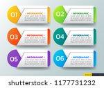modern infographics design... | Shutterstock .eps vector #1177731232