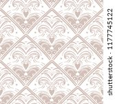 vintage style vector abstract... | Shutterstock .eps vector #1177745122