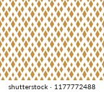 abstract geometric pattern. a... | Shutterstock .eps vector #1177772488